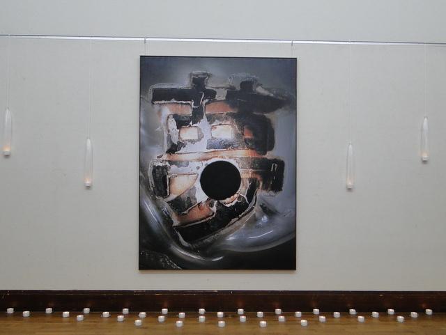 京都市立美術館で開催されたGe展の写真