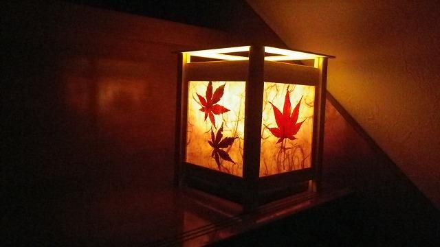 手作り和紙のランプシェード7