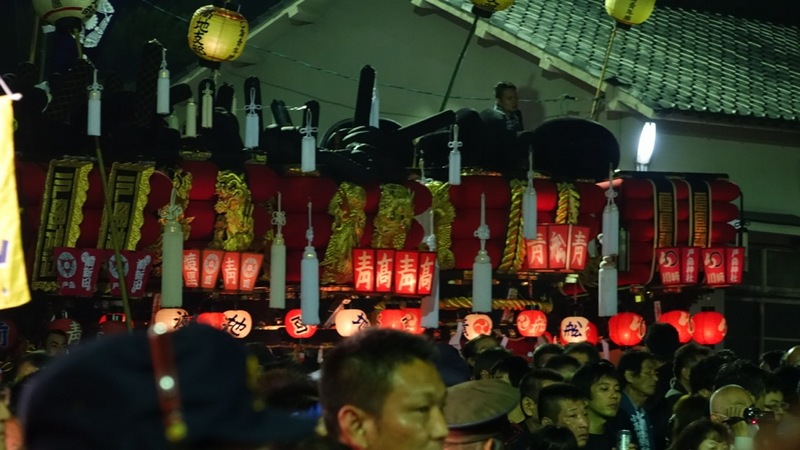 倉敷の乙島祭り