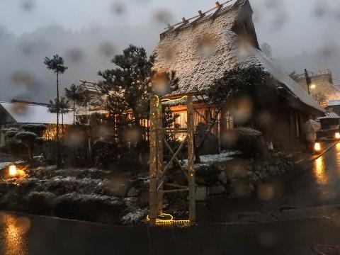 美山かやぶきの里 雪灯廊03