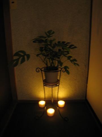 渡辺邸の間接照明